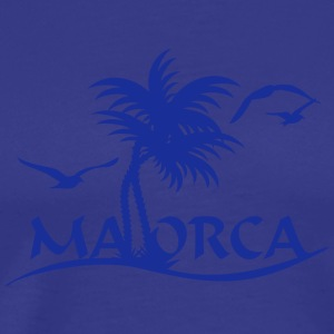 Mallorca-Palmen / Mallorca with palm trees (1c) T-Shirts - Men's Premium T-Shirt