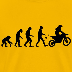 evolution motocross T-Shirts - Men's Premium T-Shirt
