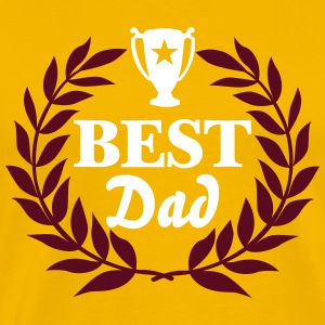 best dad trophy T-Shirts - Männer Premium T-Shirt