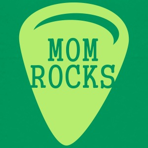 Mom Rocks (1c) Shirts - Teenage Premium T-Shirt