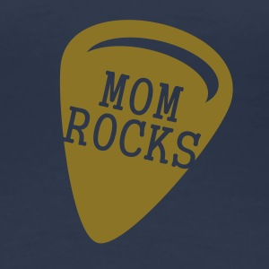 Mom Rocks (1c) T-Shirts - Frauen Premium T-Shirt