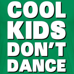 Cool Kids Don't Dance T-shirts - Herre premium T-shirt