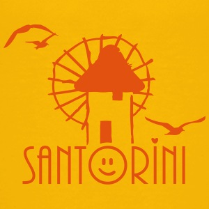 Santorini (1c) Shirts - Teenage Premium T-Shirt