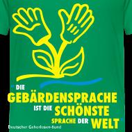 Motiv ~ Kinder T-Shirt (DGS schönste Sprache)