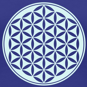 Flower of Life, Sacred Geometry, Yoga, Meditation, Zen, T-Shirts - Women's Premium T-Shirt