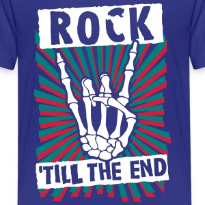 rock 'till the end Shirts - Teenage Premium T-Shirt