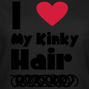 I Love My Kinky Hair T-Shirts - Women's T-Shirt