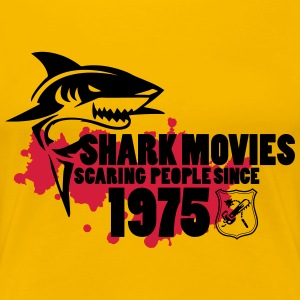 Shark Movies T-Shirts - Frauen Premium T-Shirt
