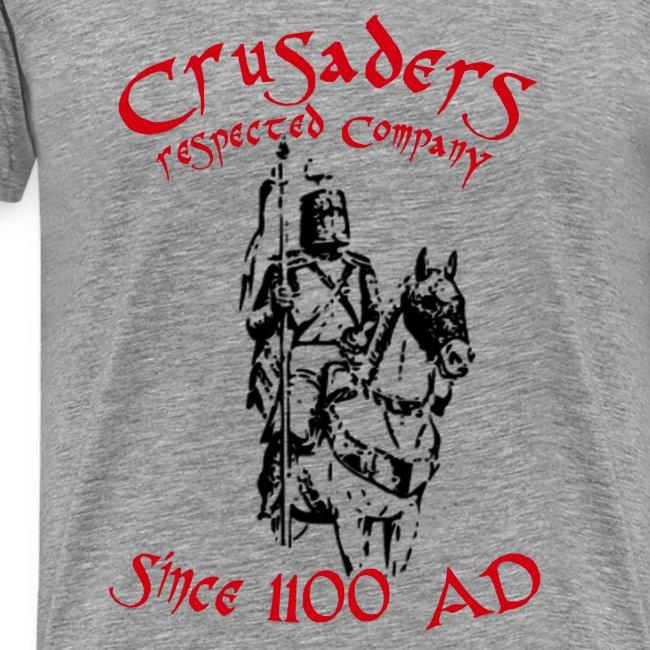 """Männer Kurzärmeliges Baseballshirt """"Crusaders"""""""