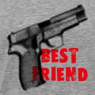 Design ~ Best Friend t-shirt grey