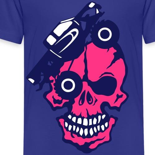 tete mort monster truck camion skull