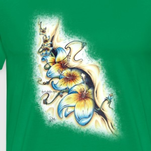 surfflowers from the inside T-shirts - Herre premium T-shirt