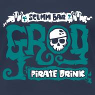 Diseño ~ Monkey Island: Scumm Bar Grog (+ Receta en la espalda)