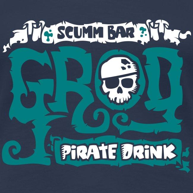 Monkey Island: Scumm Bar Grog (+ Receta en la espalda)