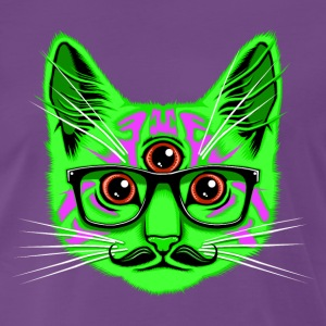Purple Trip Cat T-Shirts T-Shirts - Men's Premium T-Shirt