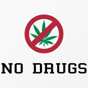 No Drugs / Say no to drugs / Cannabis / Drogen Sonstige - iPhone 4/4s Hard Case