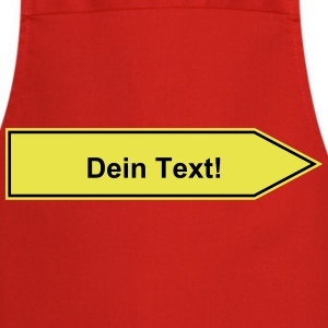 Name sign to be personalized with your text 2c  Aprons - Cooking Apron