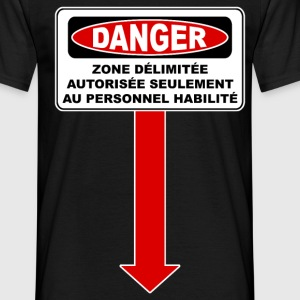 Danger zone Tee shirts - T-shirt Homme