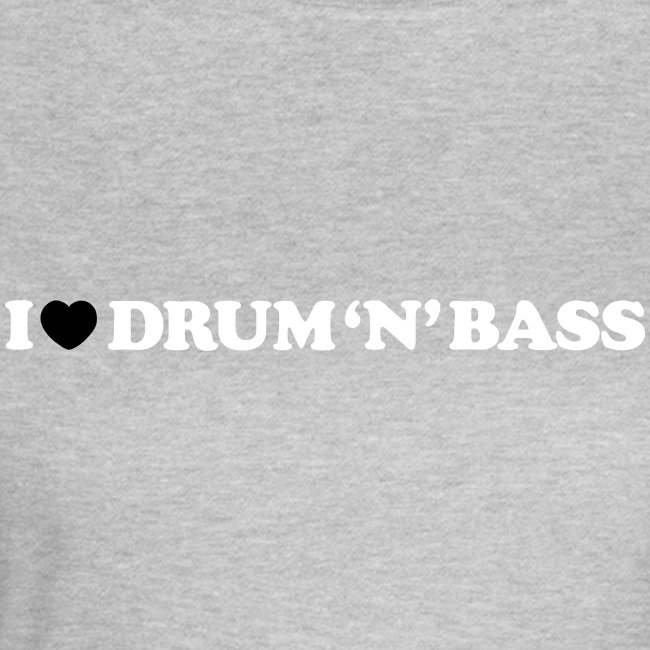 I Love Drum & Bass Classic Girl Top
