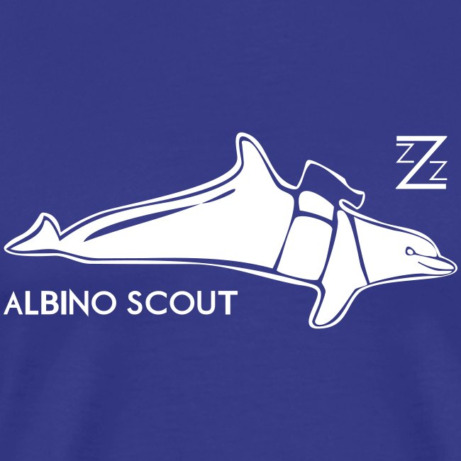 albino scout tee..choose your own color