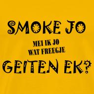 Ontwerp ~ Fries Shirt Smoke Geel