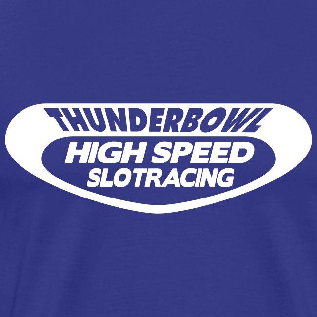 Thunderbowl - Shirt: hellblau; Druck: weiß