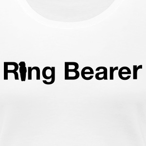 White ring bearer Ladies' - Women's Premium T-Shirt