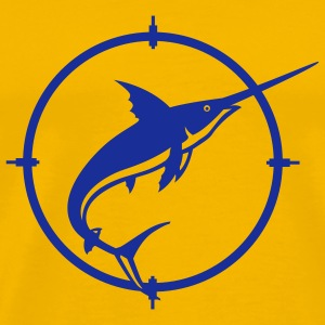 Yellow Sword Fish T-Shirts - Men's Premium T-Shirt
