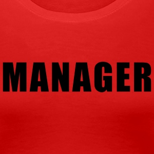 Rot Manager Girlie - Frauen Premium T-Shirt