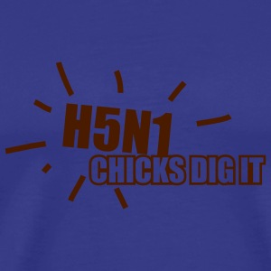 Sky H5N1 Chicks T-Shirts - Men's Premium T-Shirt