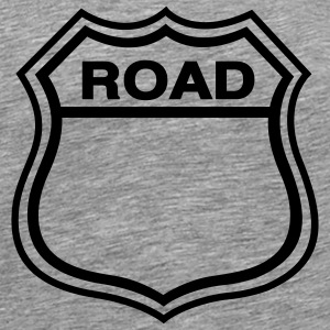 Ash Road Shield T-Shirts - Men's Premium T-Shirt