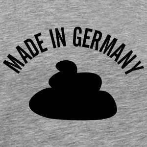 Ash (graumeliert) Made in Germany T-Shirt - Männer Premium T-Shirt