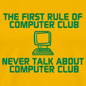 COMPUTER CLUB - Men's Premium T-Shirt