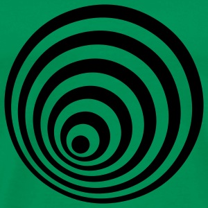 Grass green ellipse T-Shirts - Men's Premium T-Shirt
