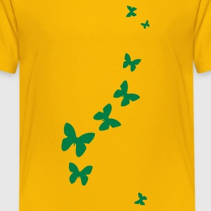 Yellow butterflies Juniors - Teenage Premium T-Shirt