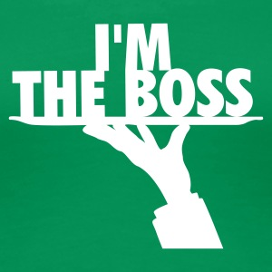 I'M THE BOSS - T-shirt Premium Femme