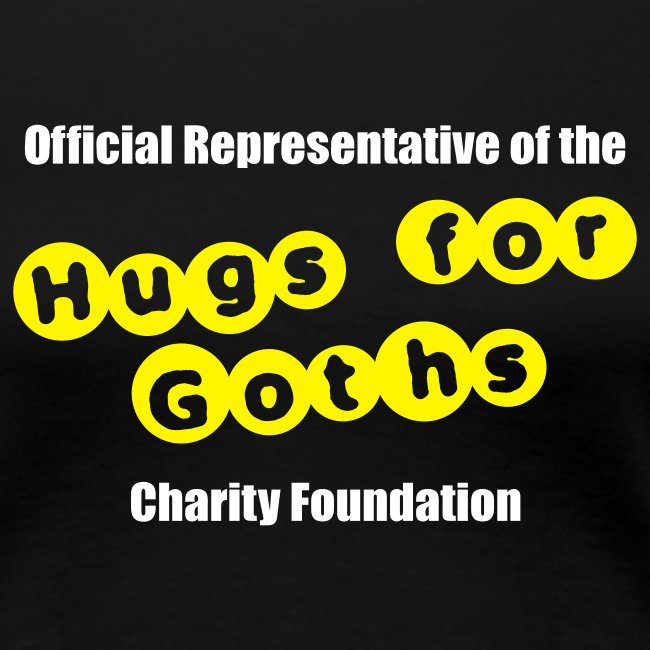 """Hugs for Goths"" T-Shirt"