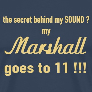 Dark navy Secret of my sound - 2farbig T-Shirt - Männer Premium T-Shirt