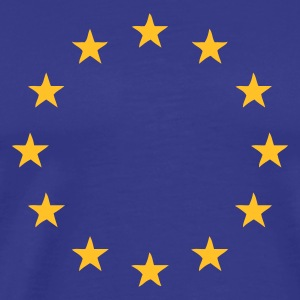 Royal blue Europe - European Union T-Shirts - Men's Premium T-Shirt