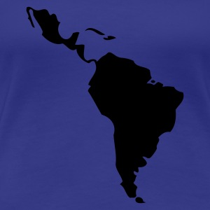 Aqua Latin America - South America Ladies' - Women's Premium T-Shirt