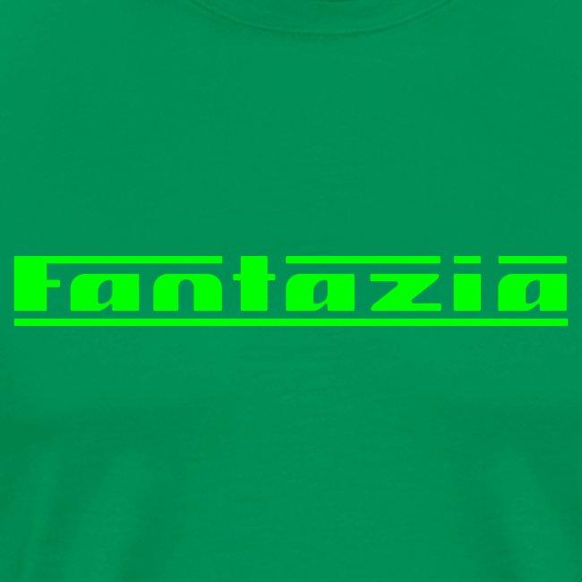 Fantazia Logo front Customisable rear