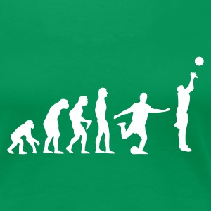 Evolution Basketball - Frauen Premium T-Shirt