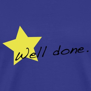 Sky Well done star T-Shirts - Men's Premium T-Shirt
