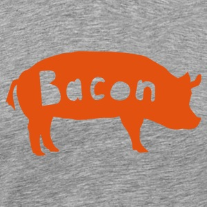 Ash bacon T-Shirts - Men's Premium T-Shirt