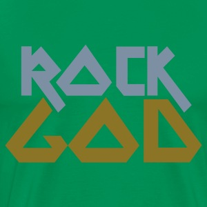 Bottlegreen ROCK GOD T-Shirts - Men's Premium T-Shirt
