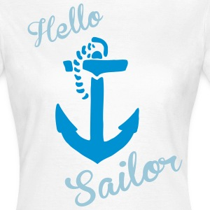 hello sailor  your-shirt24 - Frauen T-Shirt