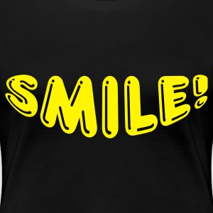Black Smile Ladies' - Women's Premium T-Shirt