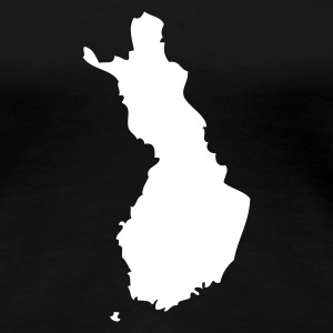 Black Finland Ladies' - Women's Premium T-Shirt