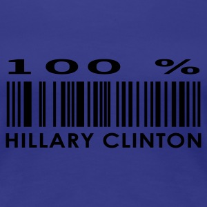 Aqua Hillary Clinton Ladies' - Women's Premium T-Shirt