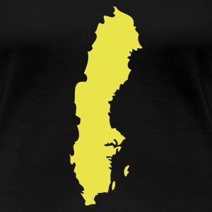 Black Sweden Ladies' - Women's Premium T-Shirt